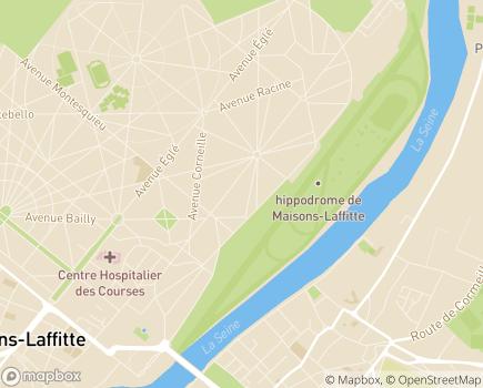 Localisation Korian Villa Pégase - 78600 - Maisons-Laffitte