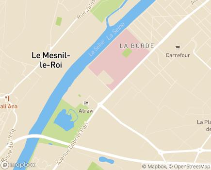 Localisation Centre Hospitalier Théophile Roussel Etablissement Public de Santé Mentale Interdépartemental - 78363 - Montesson