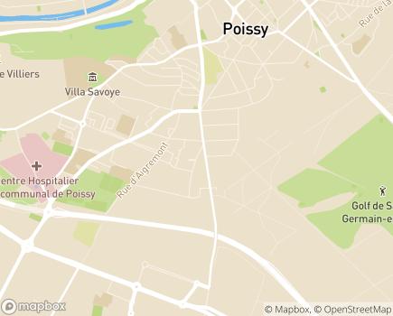 Localisation EHPAD Résidence Eleusis - 78300 - Poissy