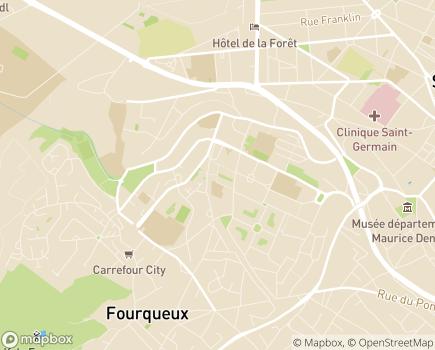 Localisation Colisée - Résidence Les Coteaux - 78100 - Saint-Germain-en-Laye
