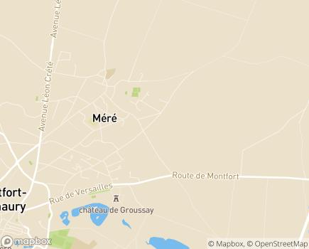 Localisation AVVEJ - Association Vers la Vie pour l'Education des Jeunes - 78067 - Montigny-le-Bretonneux