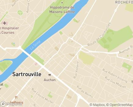 Localisation EHPAD Maison de Retraite Mon Repos - 78500 - Sartrouville