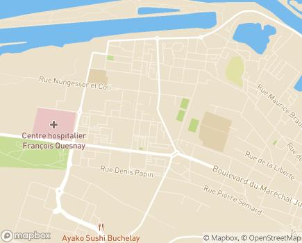 Localisation CAF des Yvelines - 78184 - Guyancourt