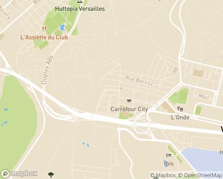 Localisation MAS - ESAT Lucie Nouet - 78140 - Vélizy-Villacoublay