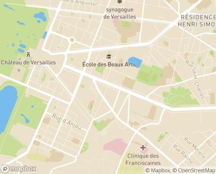 Localisation UDAF 78 - 78009 - Versailles