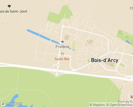 Localisation ADPEP des Yvelines - 78390 - Bois-d'Arcy