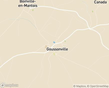 Localisation CLINEA - Clinique du Château de Goussonville - 78930 - Goussonville