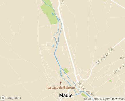Localisation La Maison des Aulnes - Foyer d'Accueil Médicalisé - 78580 - Maule