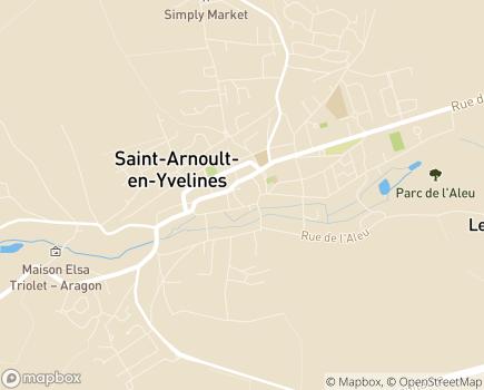 Localisation Centre Communal d'Action Sociale - 78730 - Saint-Arnoult-en-Yvelines