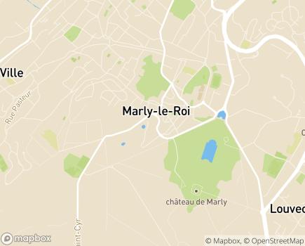 Localisation Centre Communal d'Action Sociale - 78160 - Marly-le-Roi