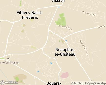 Localisation Centre Communal d'Action Sociale - 78640 - Neauphle-le-Château