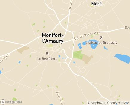 Localisation Centre Communal d'Action Sociale - 78490 - Montfort-l'Amaury