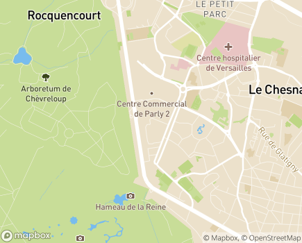 Localisation Domitys Les Symphoniales - Résidence avec Services - 78150 - Le Chesnay-Rocquencourt