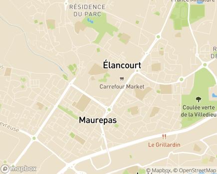 Localisation Korian Le Val d'Essonne - 78310 - Maurepas
