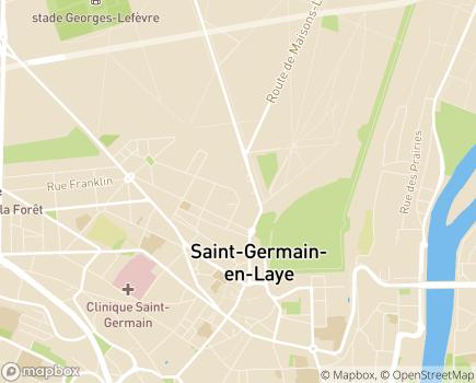 Localisation Résidence avec Services Les Hespérides - 78100 - Saint-Germain-en-Laye