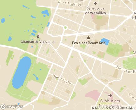 Localisation Résidence avec Services Les Hespérides des Manèges - 78000 - Versailles