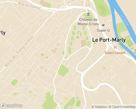 Localisation EHPAD Résidence de la Fontaine - 78160 - Marly-le-Roi