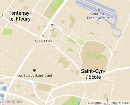 Localisation Korian Parc de l'Abbaye - 78210 - Saint-Cyr-l'École