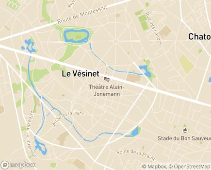 Localisation Service de Soins Infirmiers à Domicile Equipe Spécialisée Alzheimer - 78110 - Le Vésinet