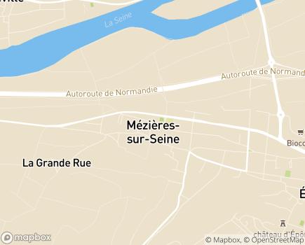 Localisation Centre Communal d'Action Sociale - 78970 - Mézières-sur-Seine