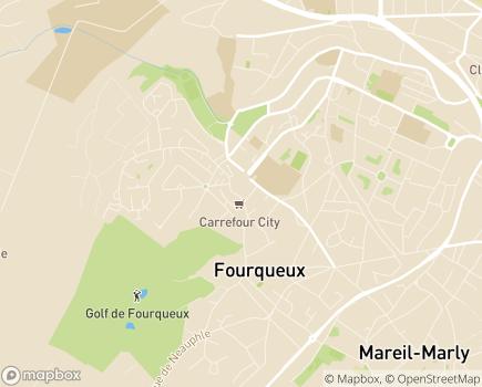 Localisation Centre Communal d'Action Sociale - 78112 - Fourqueux
