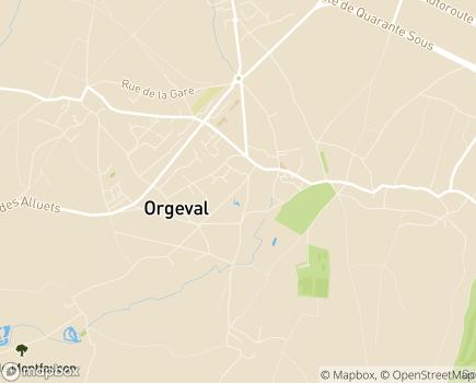 Localisation Centre Communal d'Action Sociale - 78630 - Orgeval