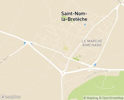 Localisation Centre Communal d'Action Sociale - 78860 - Saint-Nom-la-Bretèche