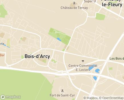 Localisation Centre Communal d'Action Sociale - 78390 - Bois-d'Arcy