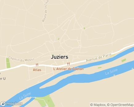 Localisation Centre Communal d'Action Sociale - 78820 - Juziers