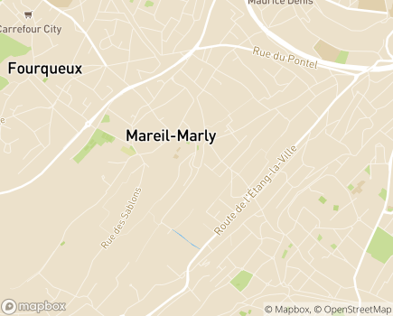 Localisation Centre Communal d'Action Sociale - 78570 - Mareil-Marly