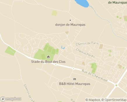 Localisation Association Lève-Toi et Marche - 78310 - Maurepas