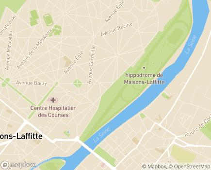 Localisation EHPAD Résidence du Parc - 78600 - Maisons-Laffitte