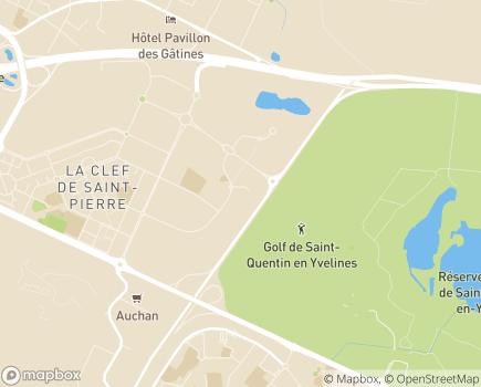 Localisation SESSAD de Pissaloup - 78190 - Trappes
