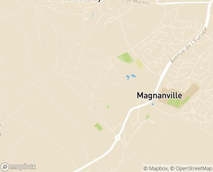 Localisation Centre de Gérontologie Clinique Fondation Léopold Bellan - 78200 - Magnanville
