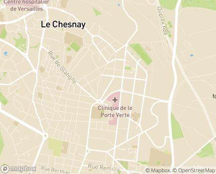 Localisation ESAT Jean Pierrat - 78000 - Versailles