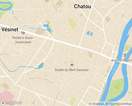 Localisation Le Carré Brimont, Résidence avec Services OVELIA - 78400 - Chatou