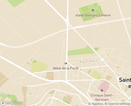 Localisation Korian Le Parc des Dames - 78100 - Saint-Germain-en-Laye