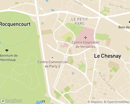 Localisation Pôle Autonomie Territorial Grand Versailles - 78150 - Le Chesnay