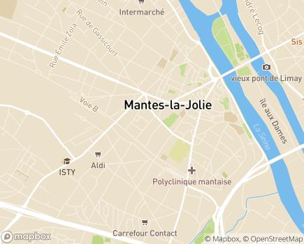 Localisation Pôle Autonomie Territorial Seine Aval Antenne Ouest - 78200 - Mantes-la-Jolie