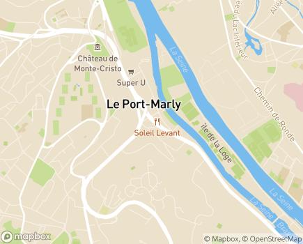 Localisation Foyer Accompagnement à la Vie Sociale Résidence André Lacoffrette - 78560 - Le Port-Marly