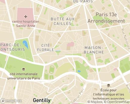 Localisation EHPAD Résidence Madeleine Bres - 78200 - Buchelay