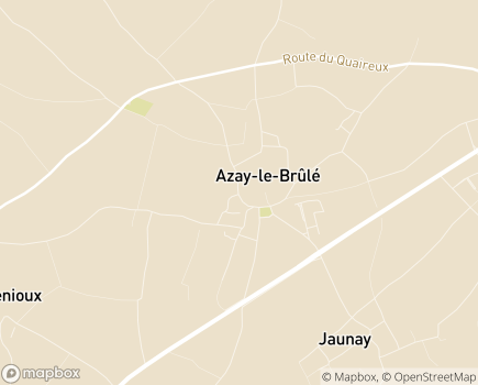 Localisation Institut Médico-Educatif Le Logis de Villaine - 79400 - Azay-le-Brûlé