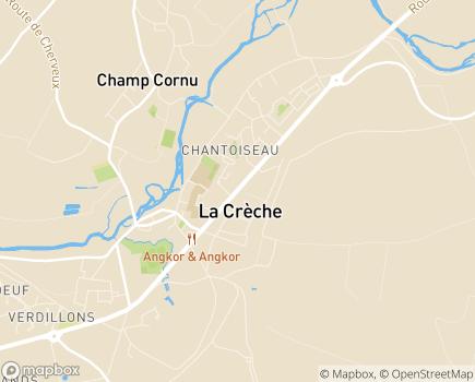 Localisation Centre Communal d'Action Sociale - 79260 - La Crèche