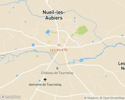 Localisation Centre Communal d'Action Sociale - 79250 - Nueil-les-Aubiers