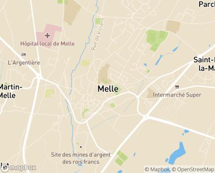Localisation Centre Communal d'Action Sociale - 79500 - Melle