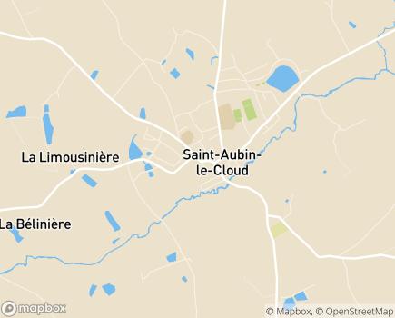 Localisation Centre Communal d'Action Sociale - 79450 - Saint-Aubin-le-Cloud