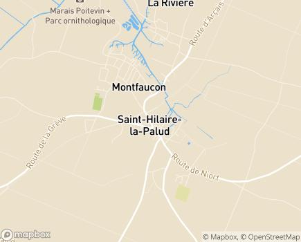 Localisation Centre Communal d'Action Sociale - 79210 - Saint-Hilaire-la-Palud