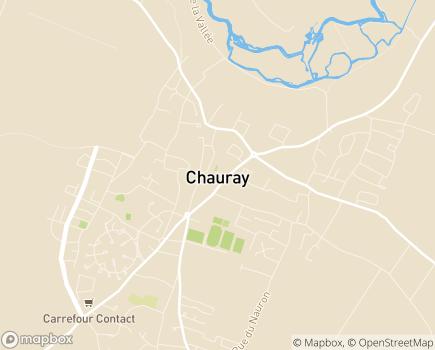 Localisation Centre Communal d'Action Sociale - 79180 - Chauray