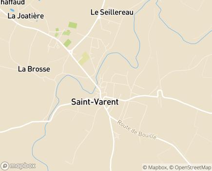Localisation Pôle Seniors - 79330 - Saint-Varent