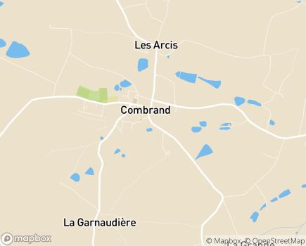 Localisation Centre Communal d'Action Sociale - 79140 - Combrand